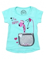 T-shirts for girls from 9 months to 4 years old