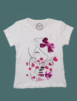 T-shirts for girls from 4 to 8 years