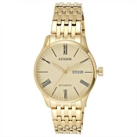 Citizen NH8352-53P Men s Automatic Gold-Tone Stainless Steel Day Date