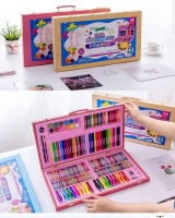 Color Box Box Wood 180 pieces