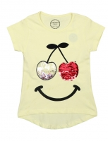 T-shirts for girls from 4 to 8 years old