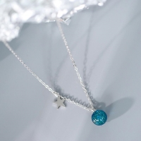 silver necklace 925 thin