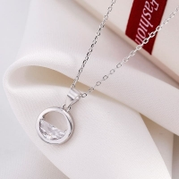 925 Sterling Silver Pendant - Circle