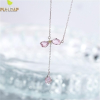 925 Sterling Silver Necklace - Flower