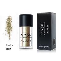 IMAGIC Glitter Eyeshadow Metallic Loose Powder Waterproof Shimmer Pigments Colors Eye Shadow Makeup 04