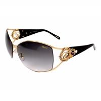 Chopard Wrap Gold Sunglasses - SCH805S