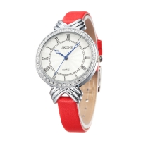 Skone Roman Numeral Women Watch / Red
