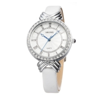 Skone Roman Numeral Women Watch - White