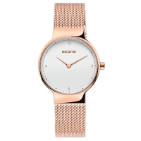 SKONE Quartz Elegance Women Watch - RoseGold