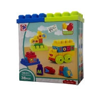 my letter train  toy 38 pcs