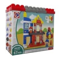 bloks  fire station 67 pieces