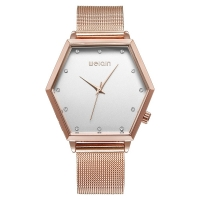 WeiQin Polygonal Style Women Watch - RoseGold