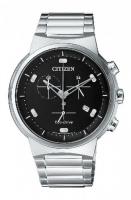 Citizen Eco-Drive Sapphire Chronograph Men s Steel Watch AT2400-81E