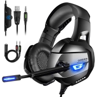 ONIKUMA Gaming Headset Xbox One Headset Upgrade PS4