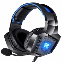 RUNMUS Gaming Headset PS4 Headset with 7.1 Surround Sound Xbox One Headset