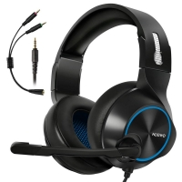 Gaming Headset for Xbox One PS4 PC Controller ARKARTECH Noise Cancelling Over Ear Headphones