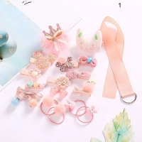Set Girl Accessories 18 pieces