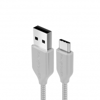 RAVPower RP-CB017 1m USB-A to Type-C Nylon Yarn Braided Lightning Cable