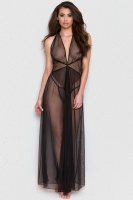 KNOTTED MESH GOWN SET