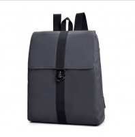Men s canvas backpack against water
