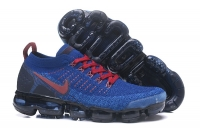 Top Quality Nike Air VaporMax Flyknit 2.0 Men Sapphire Gym Red Running Shoes