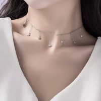 925 Sterling Silver Necklace - Stars