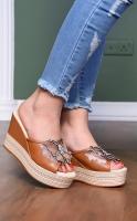 High heel slipper