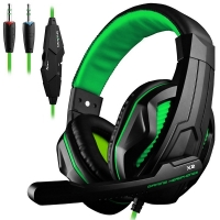 Gaming Headset DLAND 3.5mm Wired Bass Stereo Noise Isolation