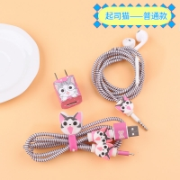 Protection Sticker   Headphones 5pcs Cat