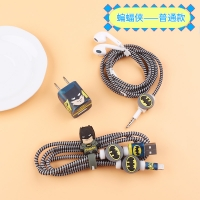 Stiker protect the charger and headphones 5 pcs Batman