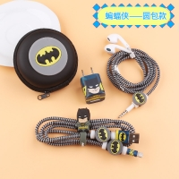 Batman protection charger and headphones 6 pcs