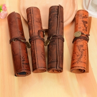Leather bag pens