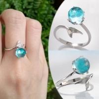 925 silver ring thin