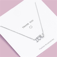 925 Sterling Silver Necklace - I Love You