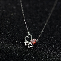 925 Sterling Silver Necklace - Hearts