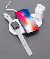 3 in 1 Wireless Charger for iPhone  Earphone and Headphone