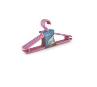 Plastic clothes hangers for children