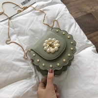 Women hand bag circular shape small size