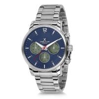Daniel Klein Exclusive silver watch DK11717-6