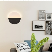 Circular wall lighting