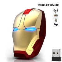 Iron Man Wireless Game Mouse 2.4G 4D