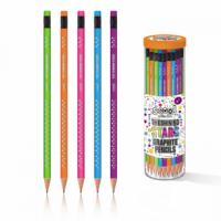 Lucite graphite pen with eraser