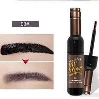 Eyebrows tint for eyebrows dye fixed color in a shaped of  juice bottle from Novo03
