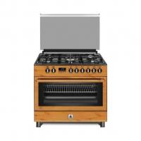 Vertical Gas Cooker 5 Burners Signal Keeper GCHA-90WDD42