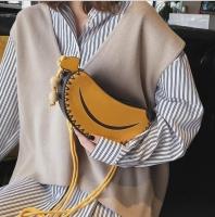 Women Handbag Banana Fruit Shape