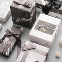 Lucite marble wrapping paper 10 pcs