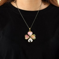 Memories necklace - hearts