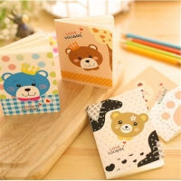 Set of notebooks bear 4 pieces