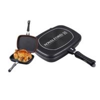 Non-Stick Double Grill Pan 32 cm