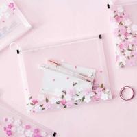 Cherry blossom document bag